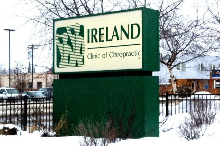 Ireland Clinic of Chiropractic in Anchorage photo of sign